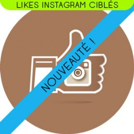 Likes Instagram réels et actifs ciblés par Pays