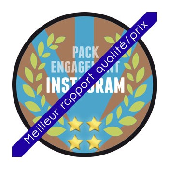 Instagram - Pack Influenceur (Ciblé Europe)