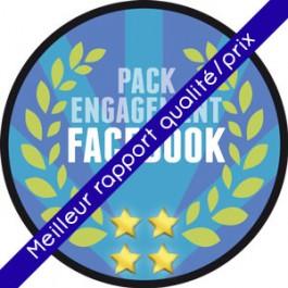 Facebook - Pack Engagement pour augmenter la visibilité de sa Page Facebook