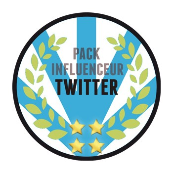 Twitter - Pack Influenceur (Likes et Retweets réels)