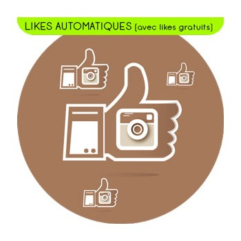 Likes Automatiques sur 60 contenus + 5 contenus gratuits