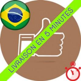 Likes Brésiliens Instagram (Humains et réels)