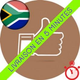 Likes Afrique du Sud Instagram (Humains et réels)