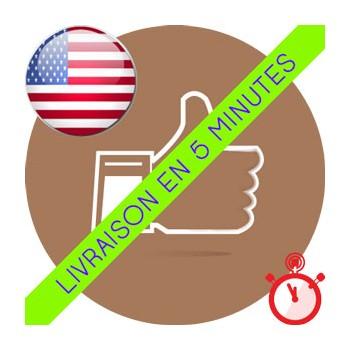 Likes Américains et Anglais (UK+USA) Instagram (100% réels et actifs)