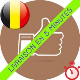 Likes Belges Instagram (Humains et réels)