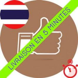Likes Thaïlandais Instagram (Humains et réels)