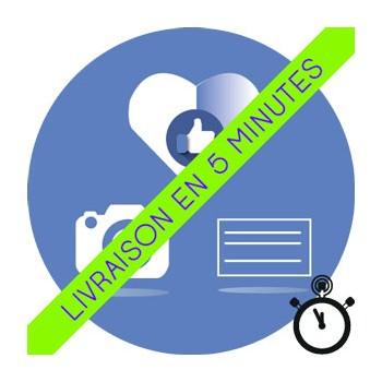 Likes Facebook sur publications [Inactifs sans Garantie] + Livraison gratuite