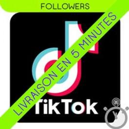 Followers Tik Tok [Haute Qualité] - Garantie de remplacement 360 jours