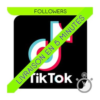Followers Tik Tok - 100% Réels (Inactifs)