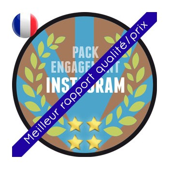 Instagram - Pack Influenceur 100% Français (FRANCE)
