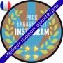 Instagram - Pack Influenceur français (pour devenir populaire rapidement)