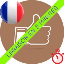 Likes Instagram Français réels et actifs