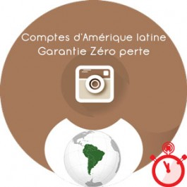Followers Instagram 100% réels & actifs - Amérique Latine