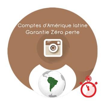 Followers Instagram 100% réels & actifs - Amérique Latine