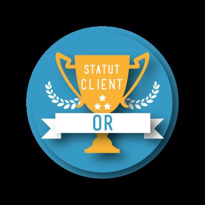Statut Or - 15% de remise sur vos achats de likes et followers Instagram